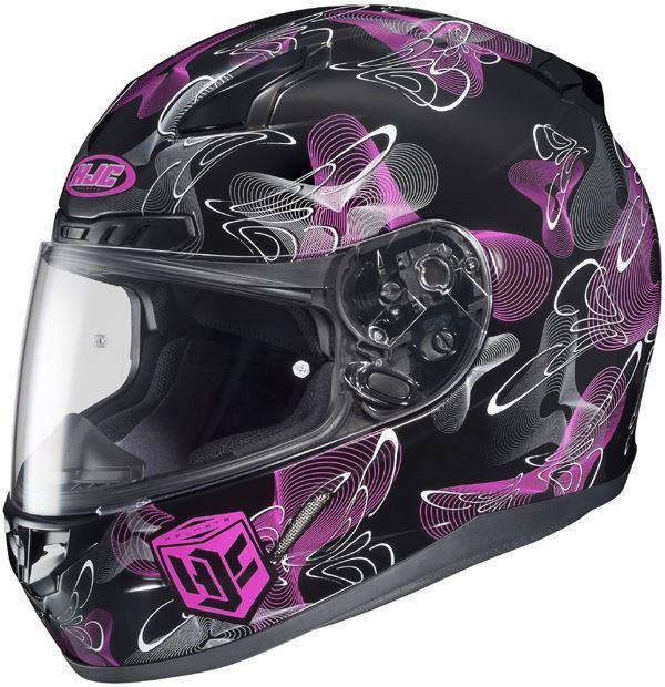 Hjc Cl 17 Mystic Full Face Womens Helmet Snell Dot Xs S M