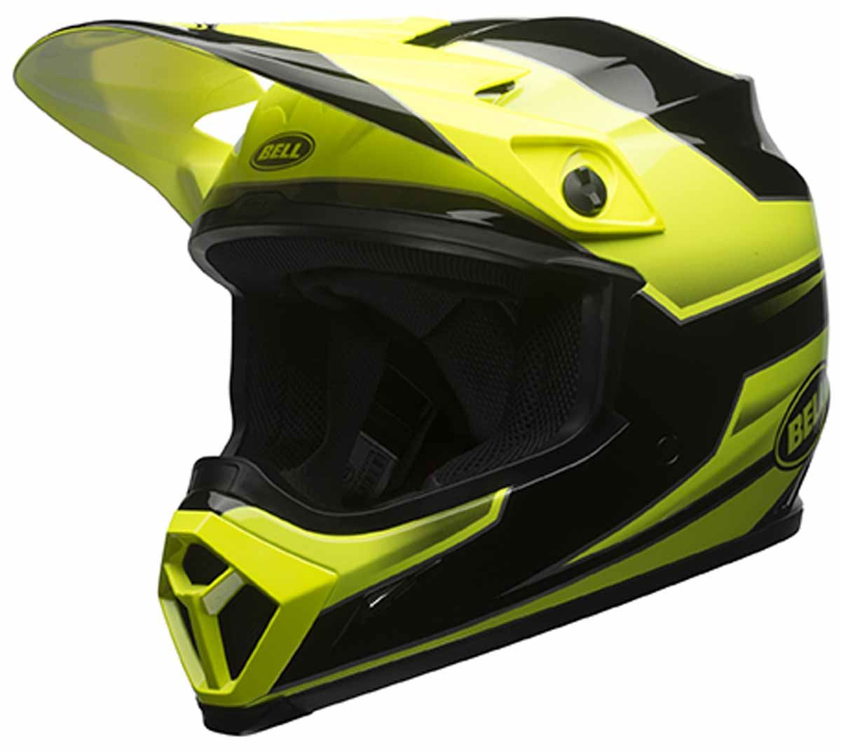 bell mx 9 helmet off road dirt bike mx motorcycle dot ebay. Black Bedroom Furniture Sets. Home Design Ideas