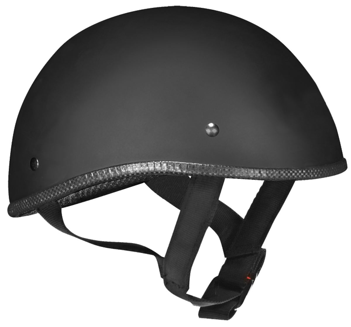 Vega XTS Naked Half Helmet Gloss Black Medium - Laura