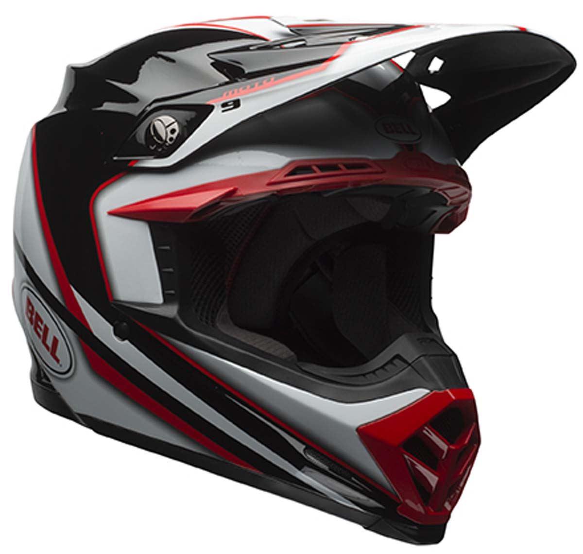 bell moto 9 off road dirt bike mx motorcycle helmet ebay. Black Bedroom Furniture Sets. Home Design Ideas