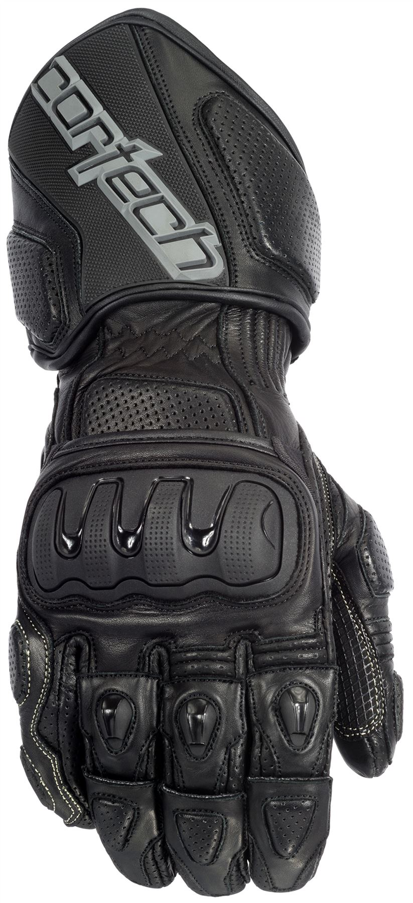 Xs black leather gloves - Cortech Impulse Rr Motorcycle Leather Gloves Abrasion Resistant
