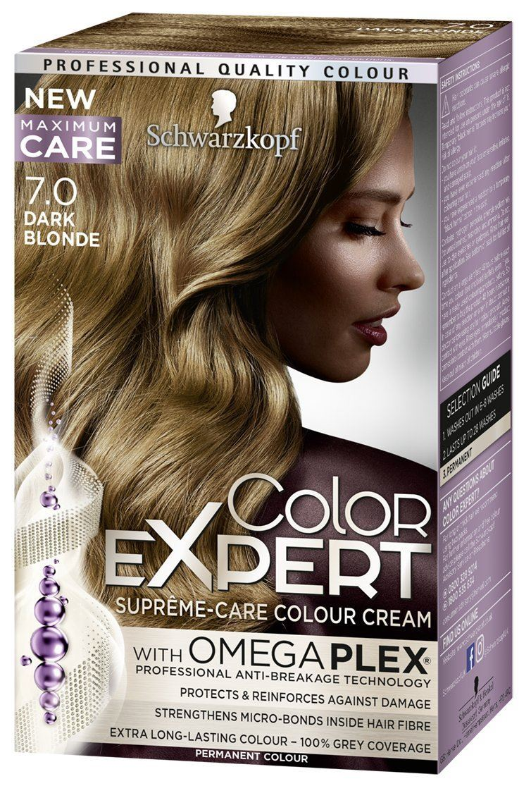Schwarzkopf Color Expert Omegaplex Hair Dye All Shades