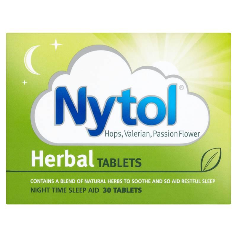 Nytol Herbal Tablets Night Time Sleep Aid 30 Tablets | eBay