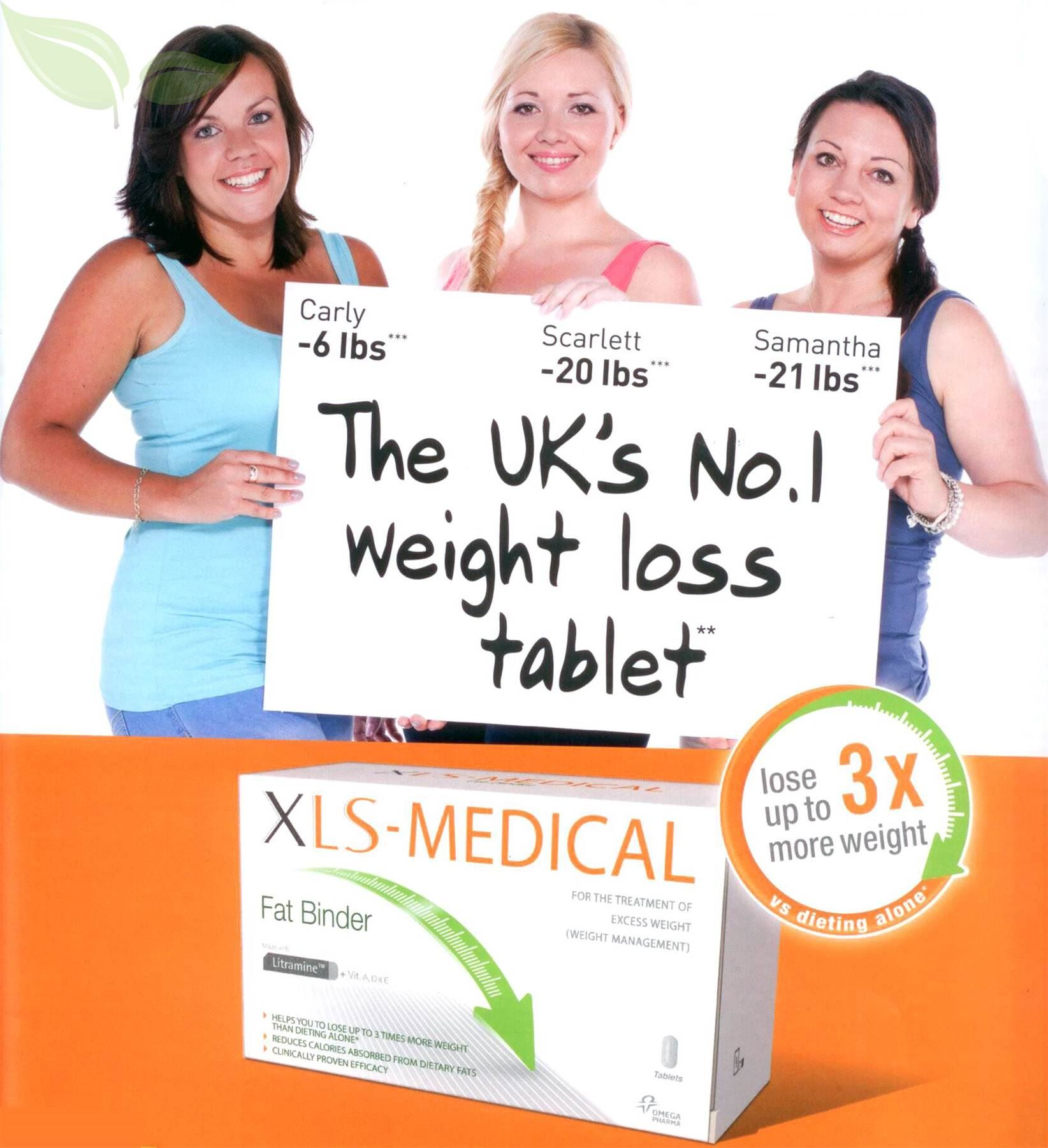 The UK's #1 Weight Loss Tablet