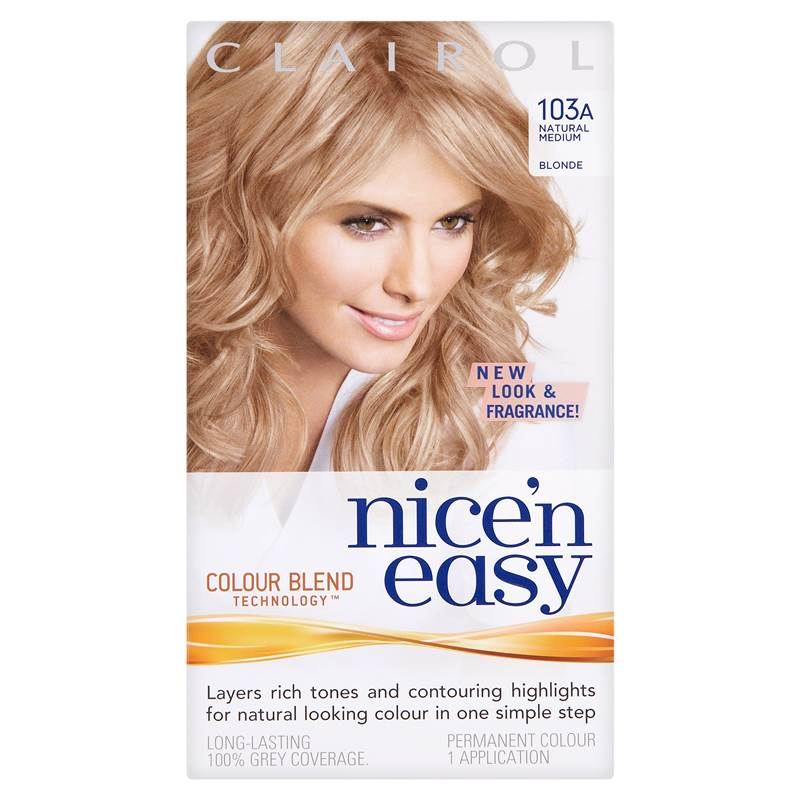 Clairol Nice N Easy Permanent Hair Colour Natural Medium
