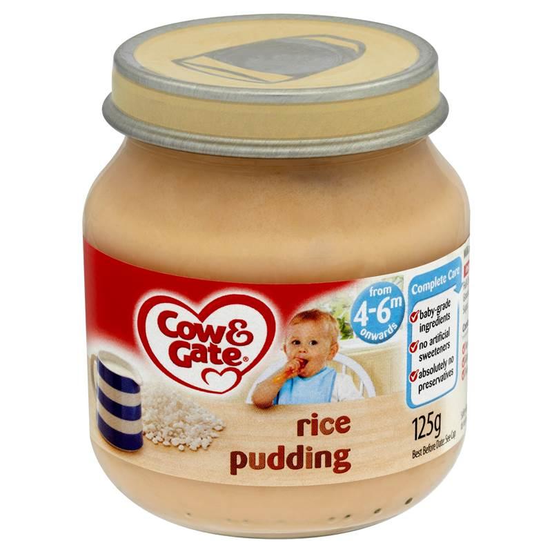 c g s1 rice pudding jar 125g ebay. Black Bedroom Furniture Sets. Home Design Ideas