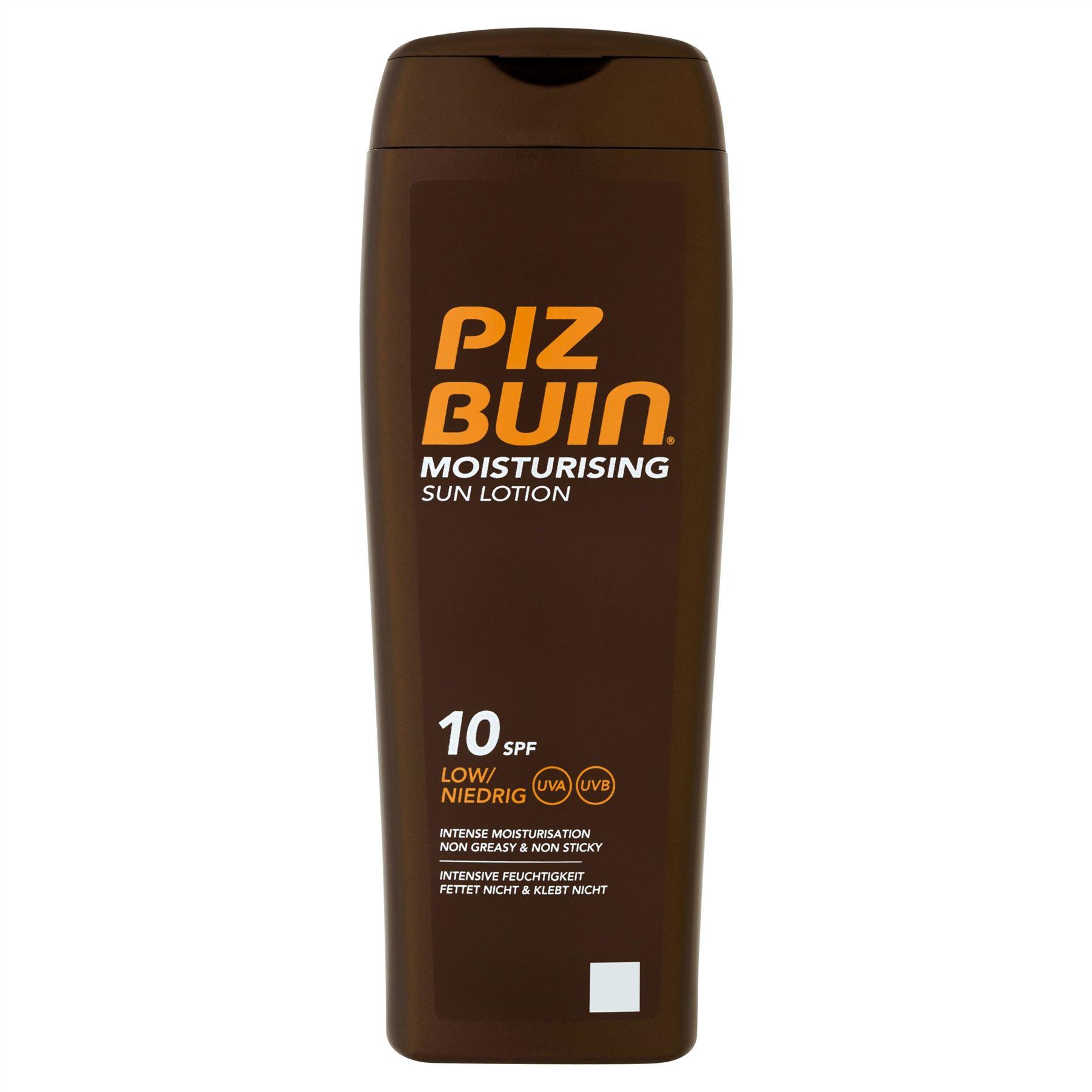 Piz Buin Moisturising Sun Lotion SPF 10 Low 200ml | eBay
