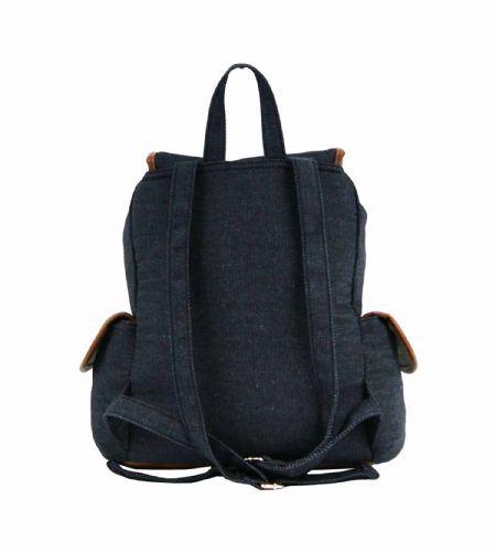 Gym Bag Stylish: Womens Girls Printed Owl Polka Canvas Backpack Travel
