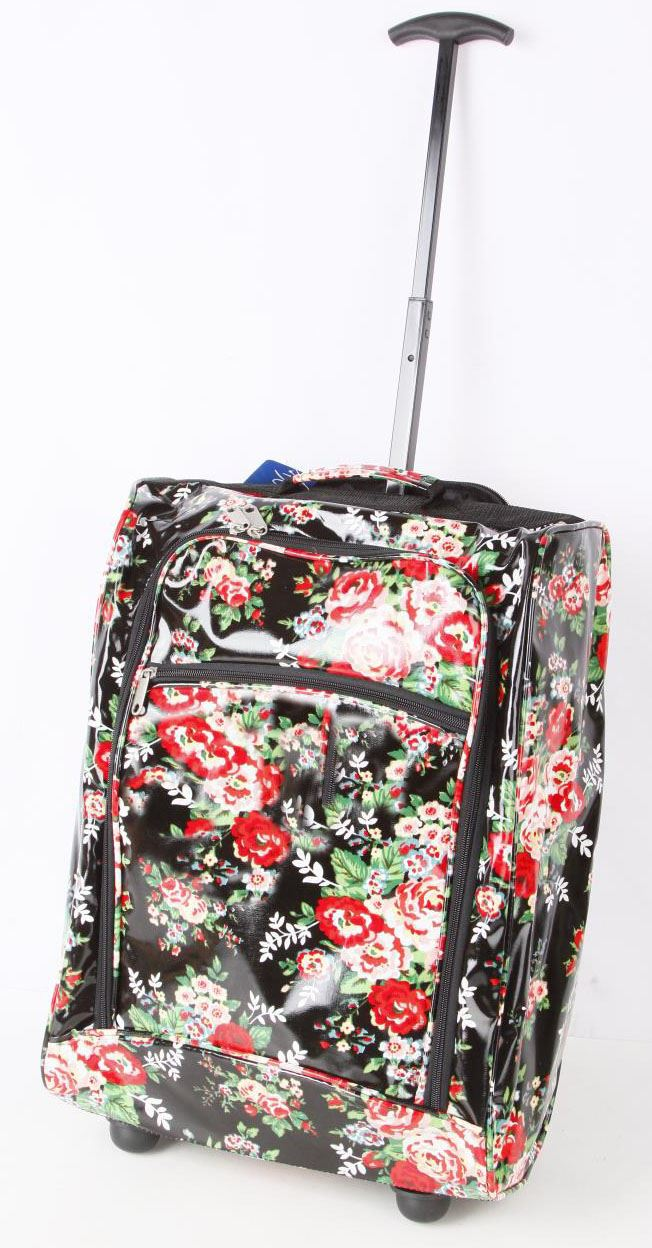 Hand Lightweight Wheeled Cabin Size Approved Trolley SuitCase Bag ...