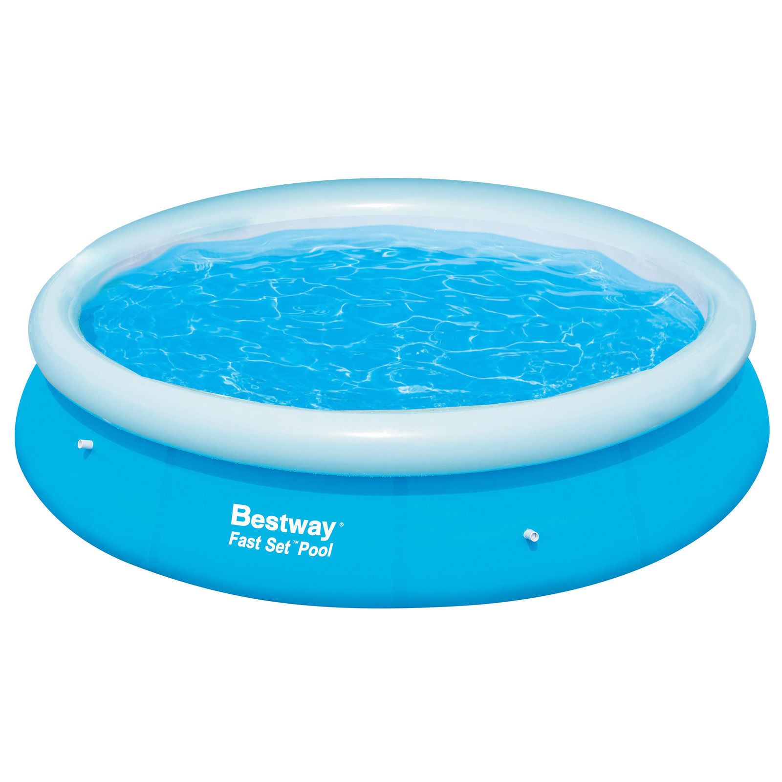 Bestway gonfiabile piscina chiaro fast set funfamily for Ebay piscinas