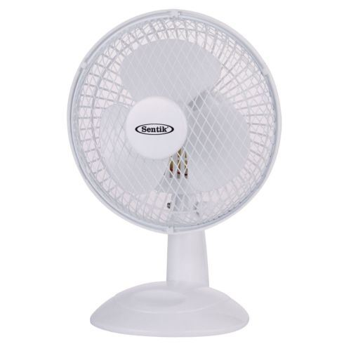 6 Inch Desk Fan : New quot inch small portable table tilting desk fan air