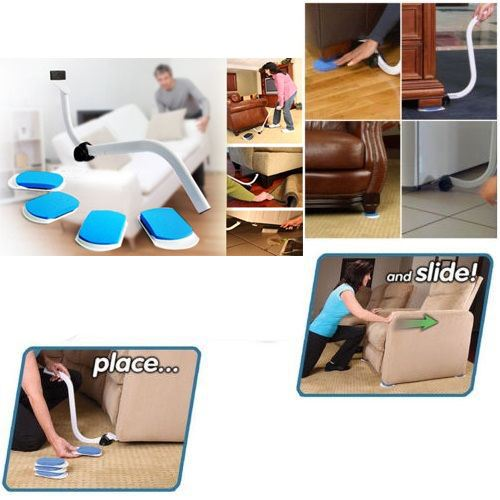 Lift move lifting jack furniture lifter slider moving set easy move too ebay - Easy to move furniture ...