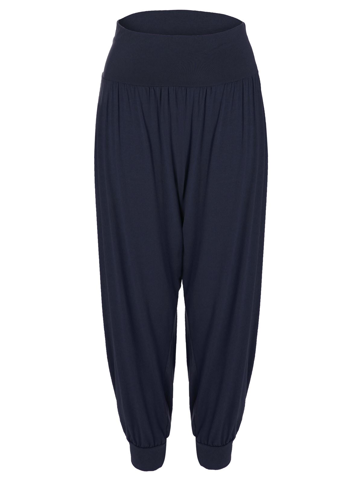 Women's Harem Pants Let loose and relax! Give legroom a whole new spin with women's harem pants, genie pants and baggy pants that pull off loose silhouettes effortlessly but with comfort from hip to hem.