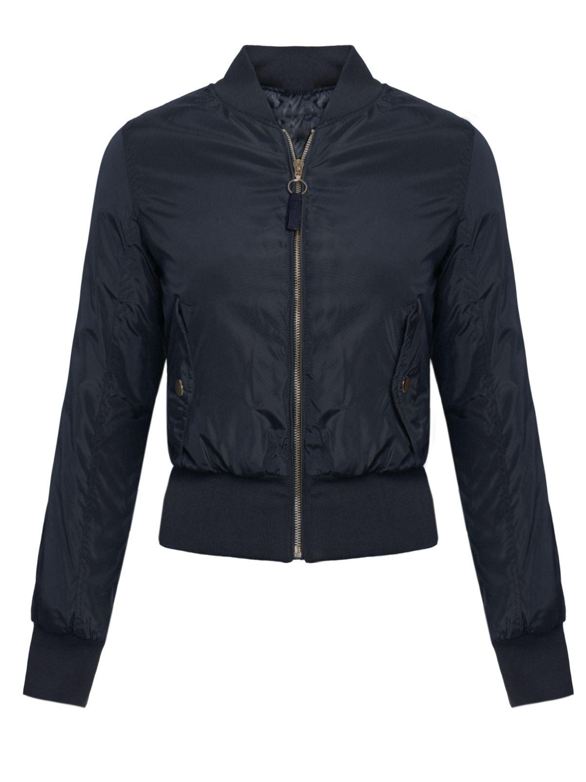 Ladies Womens Brave Soul Jacket Padded Vintage Zip Up ...