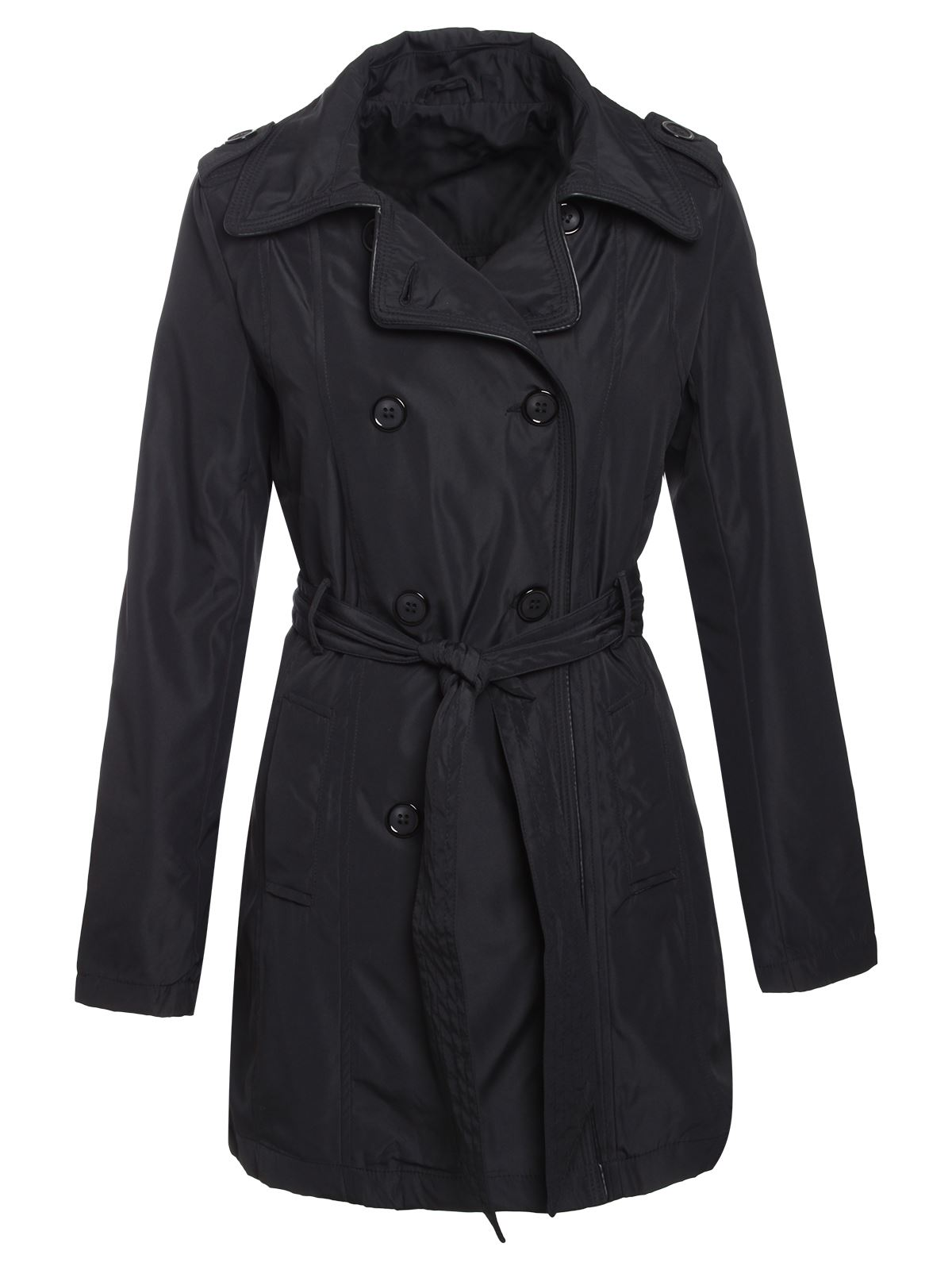 Brave-Soul-Womens-Ladies-Trench-Mac-Belted-Jacket-Double-Breasted-Coat