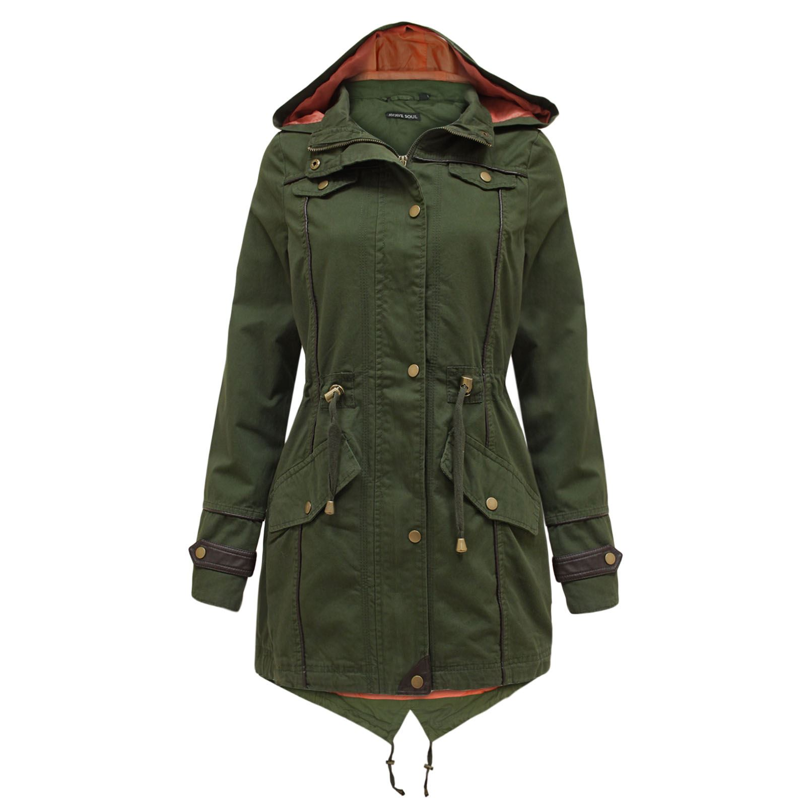 Купить Недорого Осеннюю Куртку Парку