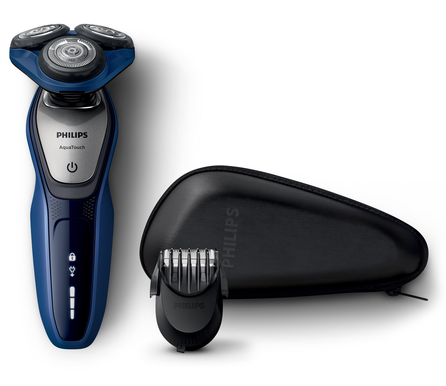 philips aquatouch electric shaver aquatec wet dry beard styler cordless s5600 41 ebay. Black Bedroom Furniture Sets. Home Design Ideas