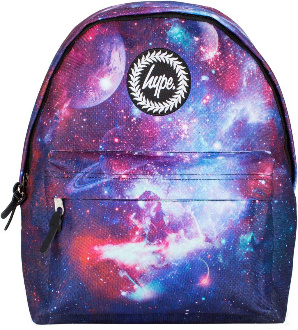 Hype Speckled Backpack Rucksack Bag Black Red Yellow Blue ...