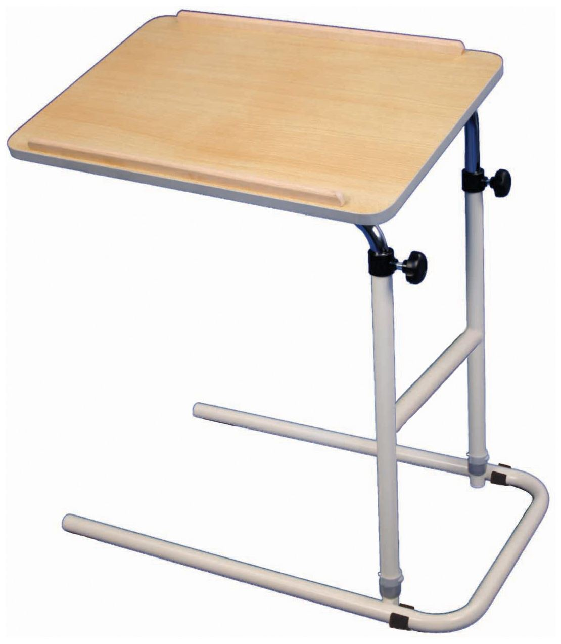 Cantilever over bed or chair table adjustable height tilt for Table bed chair