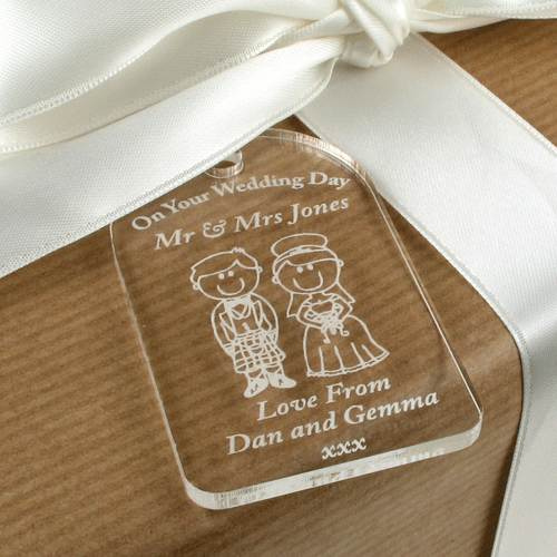 Scottish Wedding Gift For Bride : Engraved-wedding-gift-scottish-traditional-wedding-gift-tag-wedding ...