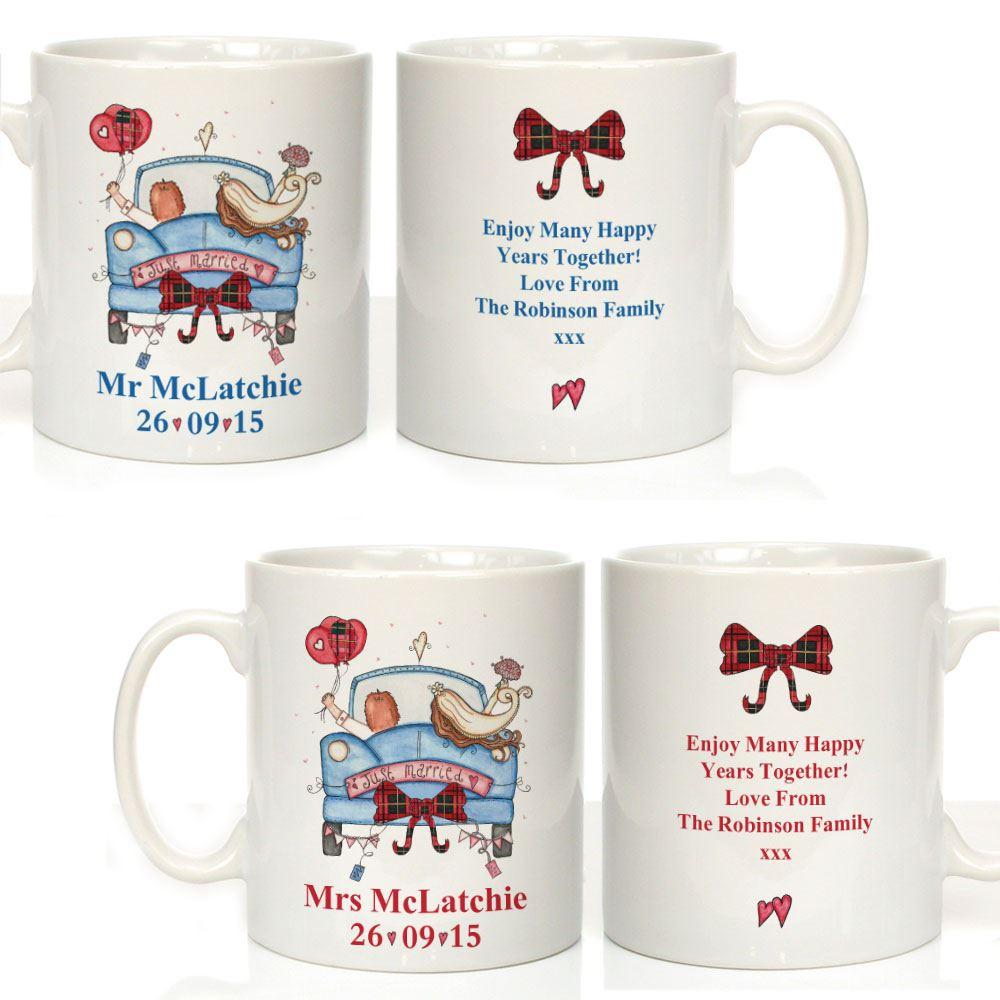 Wedding Gift Ideas Scotland : Ideas Scottish Wedding Gifts personalised illustrated scottish wedding ...