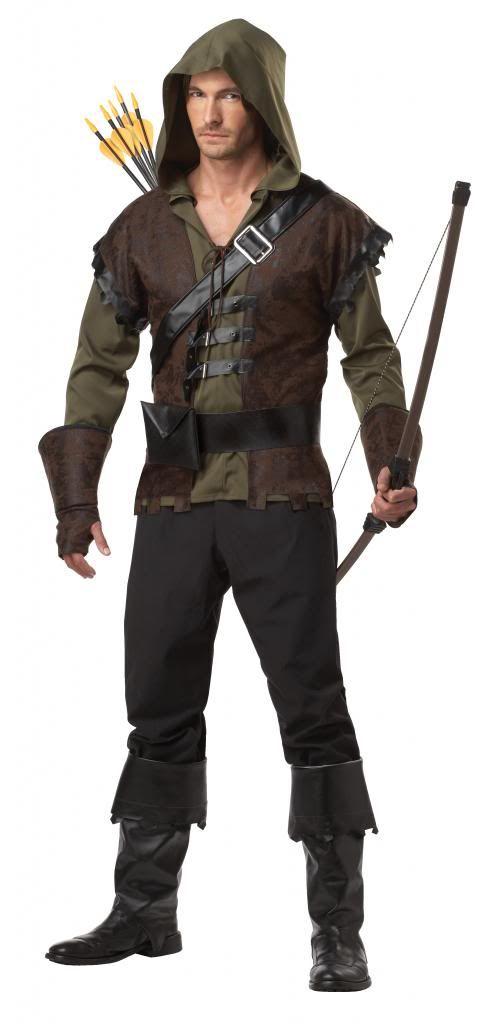Déguisement DE Robin DES Bois Médiéval Adultes Hommes  ~ Costume Robin Des Bois