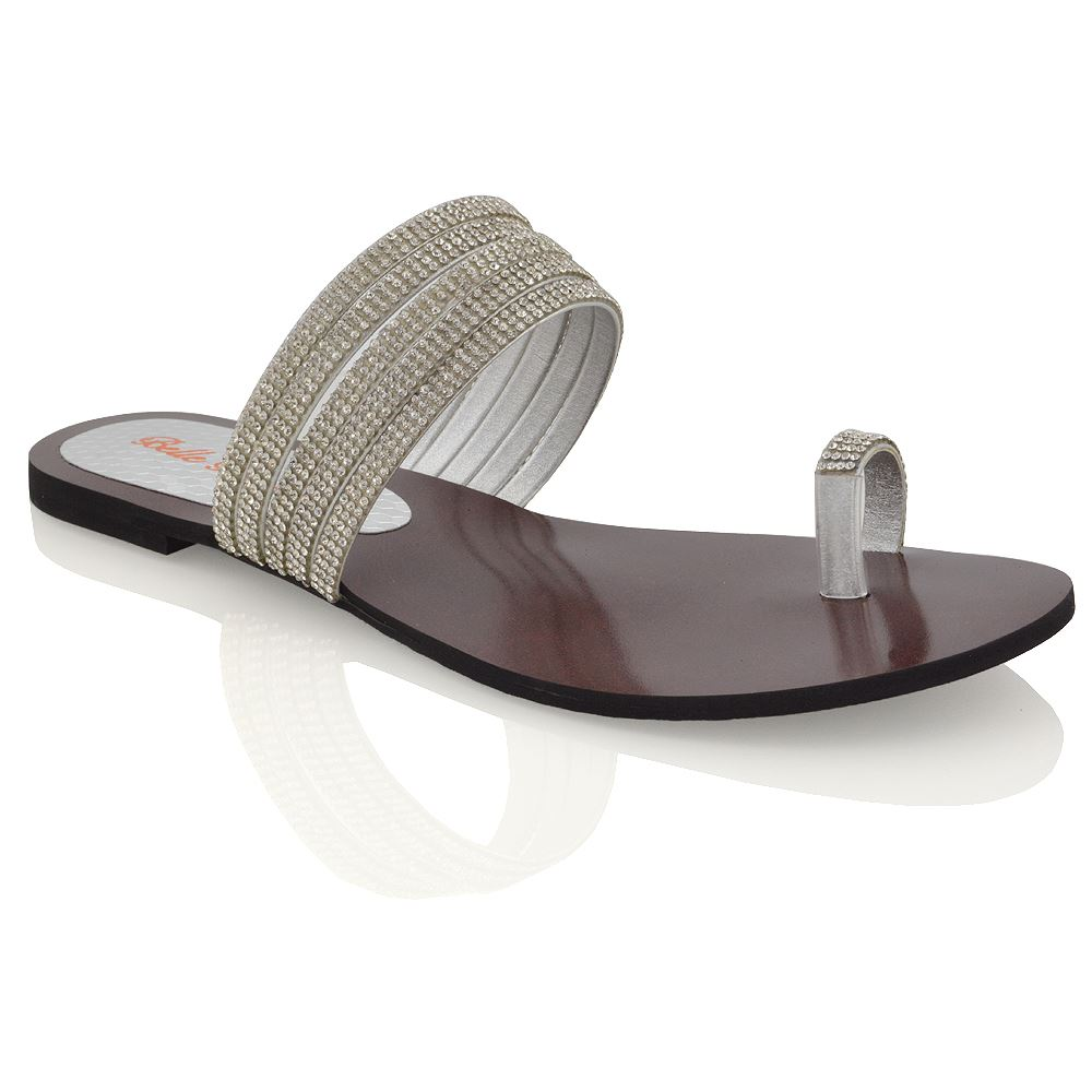 Flat Diamoante Shoes And Sandals