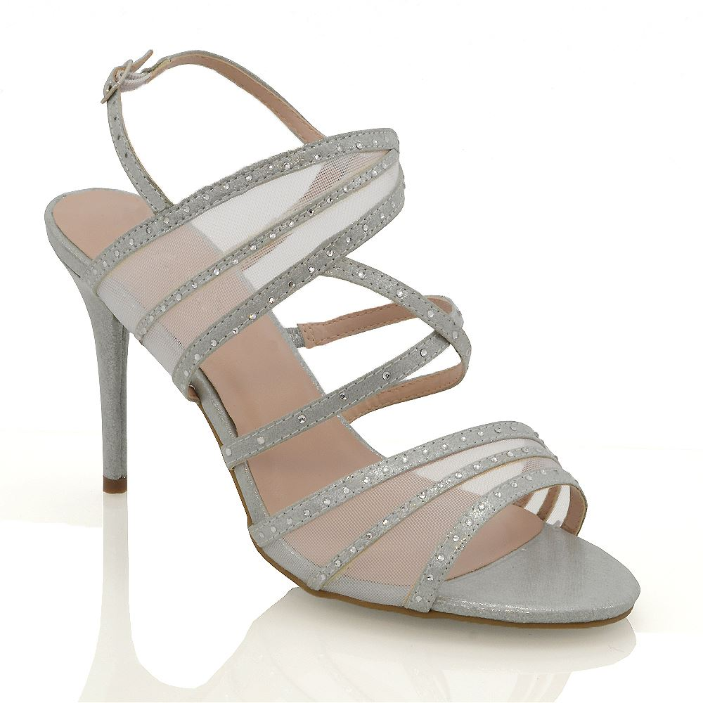 Wide Fit Diamante Shoes