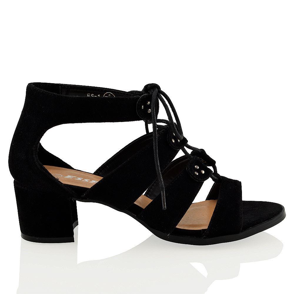 Black Block Heel Shoes Boohoo