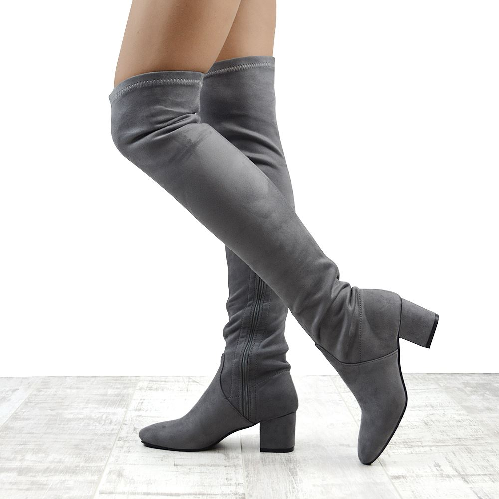 knee high boots without heel 28 images new womens the