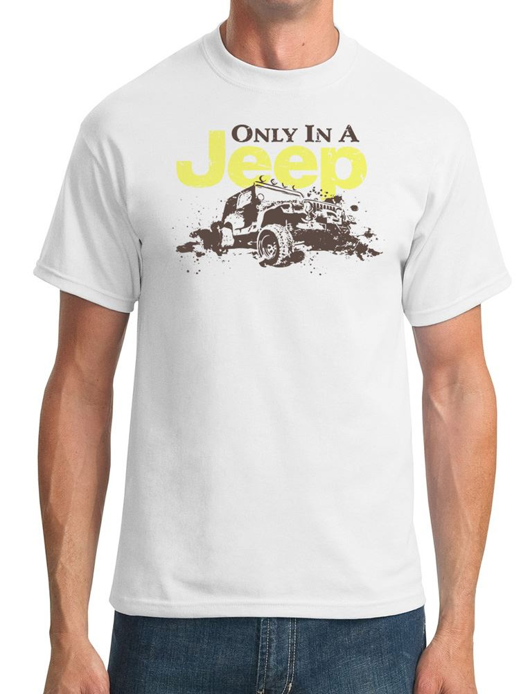 Offroad-Only-In-A-Jeep-Mens-T-Shirt