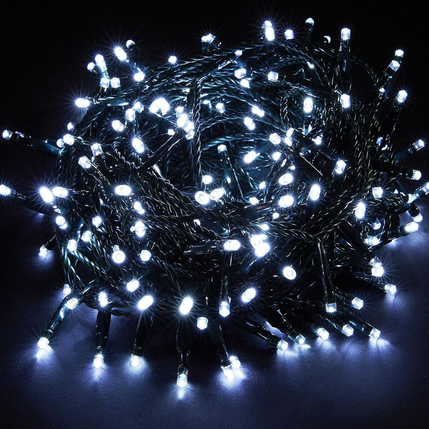Chaser Christmas Lights.Details About White Chaser 100 Led Fairy String Xmas Christmas Wedding Party Lighting
