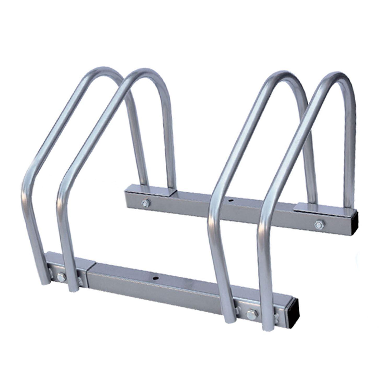 2 bike floor wall mount bicycle cycle rack storage locking. Black Bedroom Furniture Sets. Home Design Ideas