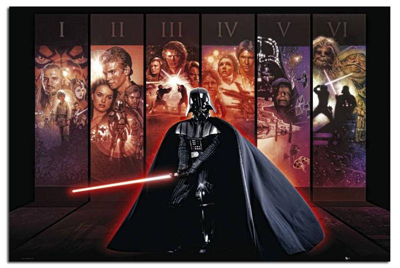 Star-Wars-Anthology-Large-Maxi-Wall-Poster-New-Laminated-Available