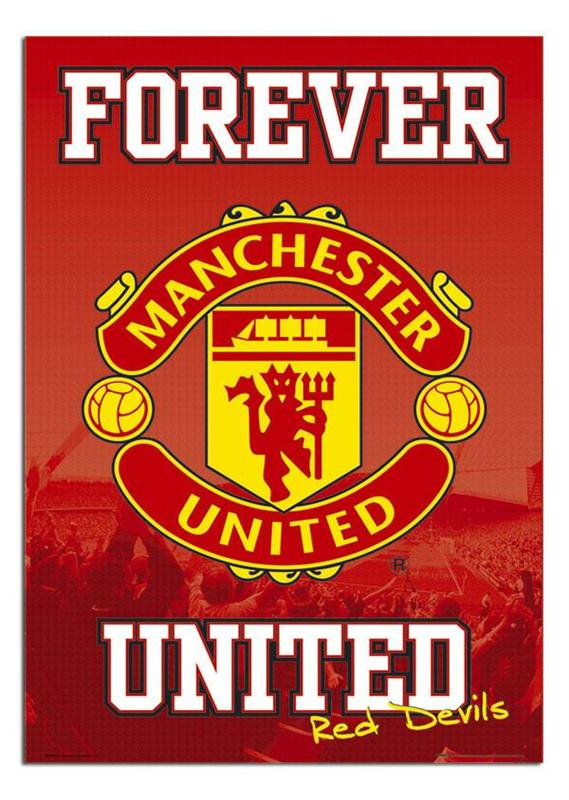 Manchester-United-Forever-United-Large-Maxi-Wall-Poster-New