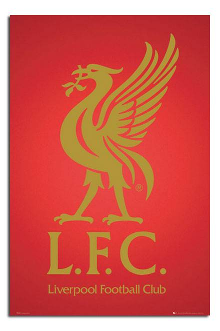 Liverpool-FC-Club-Crest-Large-Wall-Poster-New-Laminated-Available