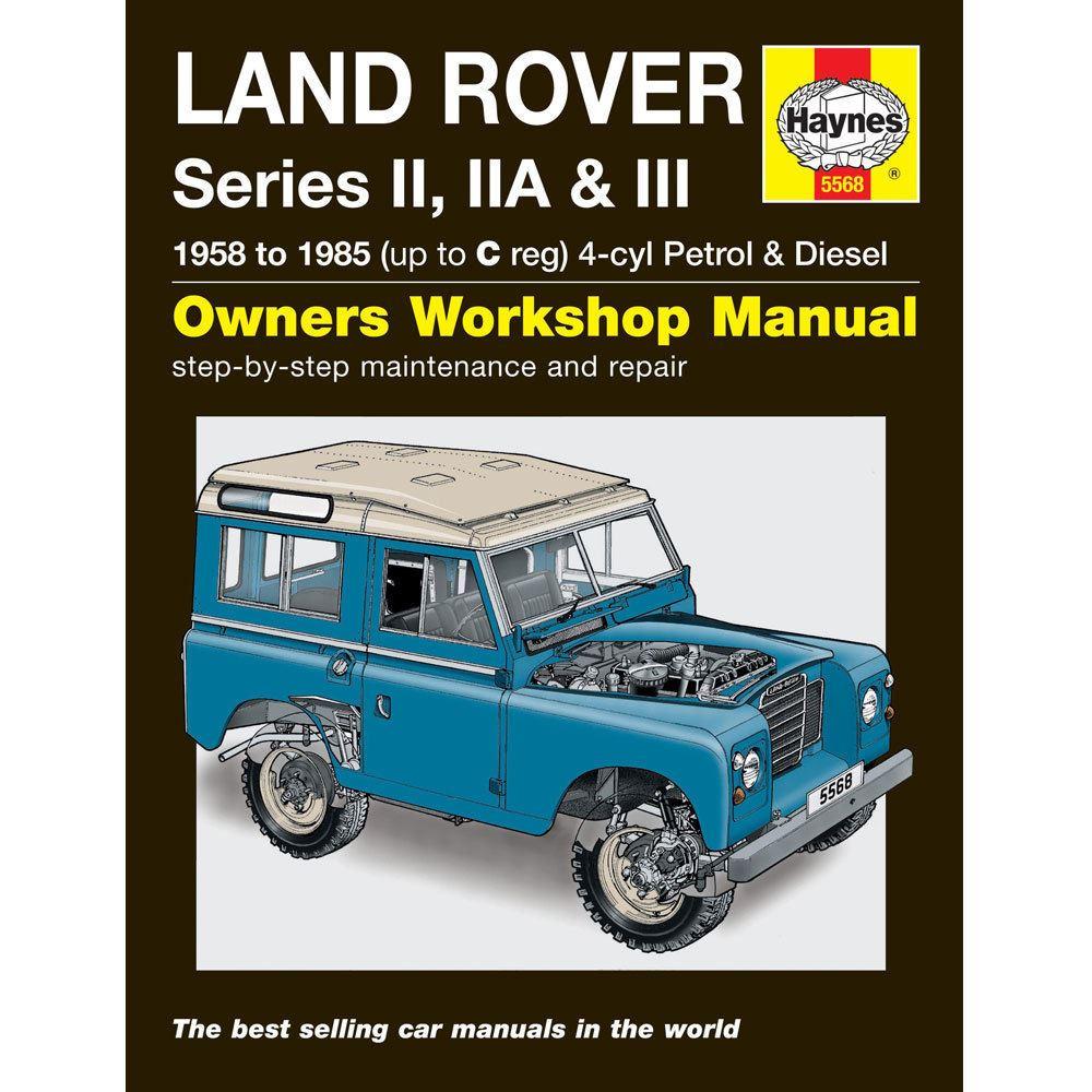 New Haynes Manual Land Rover Series 2, IIA & III 3 58-85