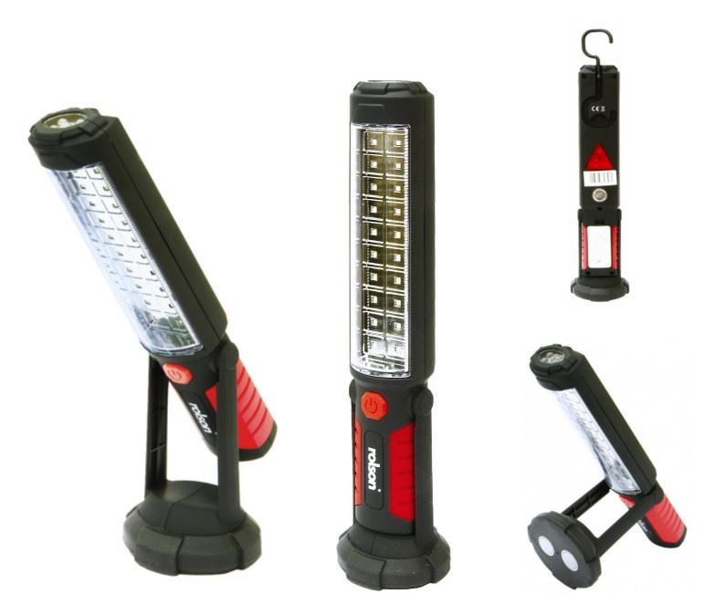 Rolson 20 & 5 LED Work Garage Inspection Light Lamp SMD