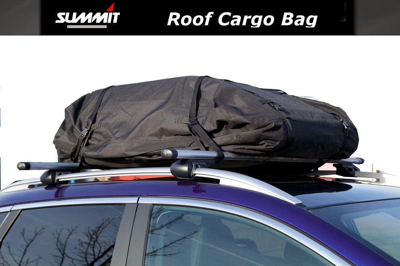 Summit 426 Litre Soft Cargo Roof Box Bag Waterproof Fits