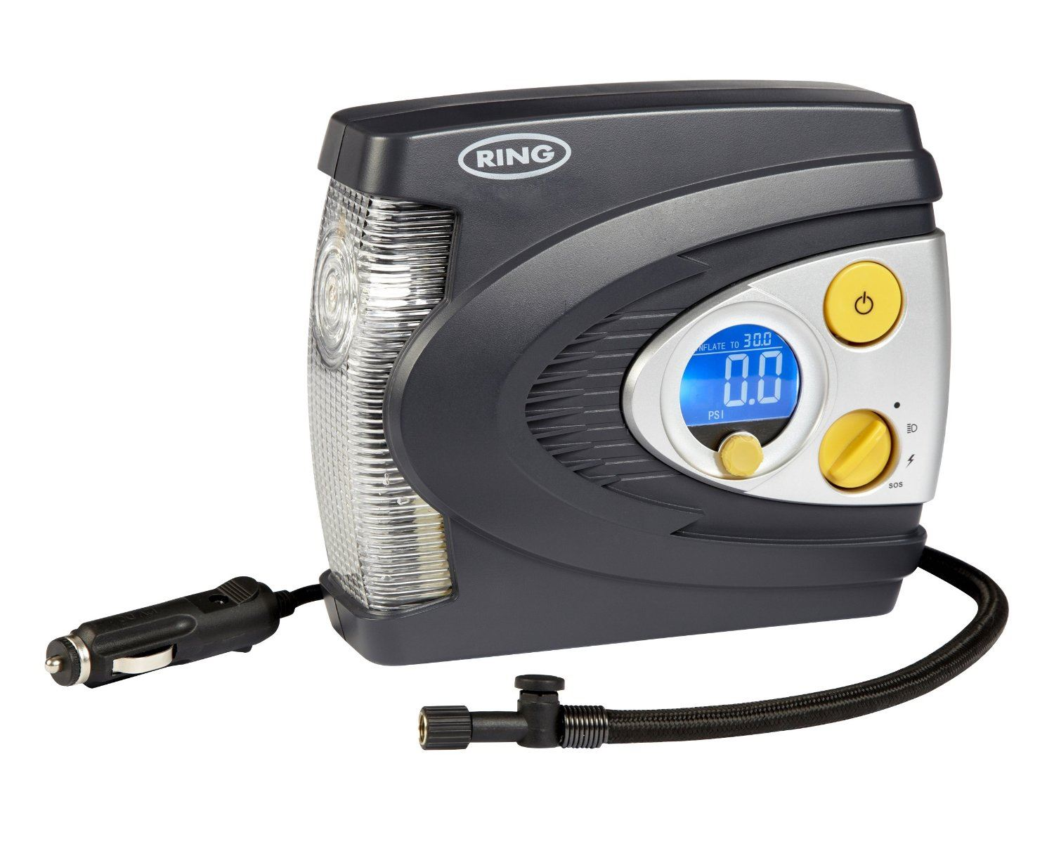 Ring Digital Air Compressor Light V