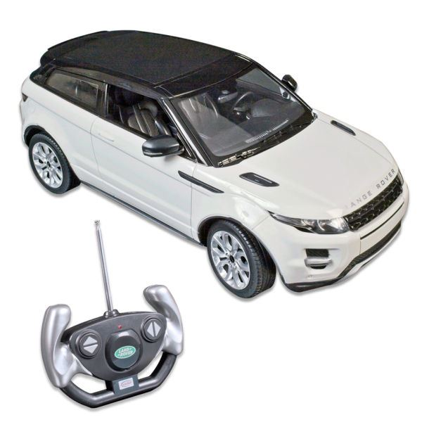 official licensed rc range rover evoque car remote control 1 14 scale red white ebay. Black Bedroom Furniture Sets. Home Design Ideas