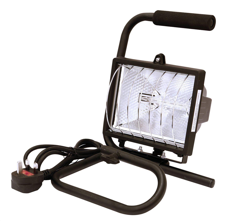 Rolson 400W Heavy Duty Halogen Work Light Portable Garage