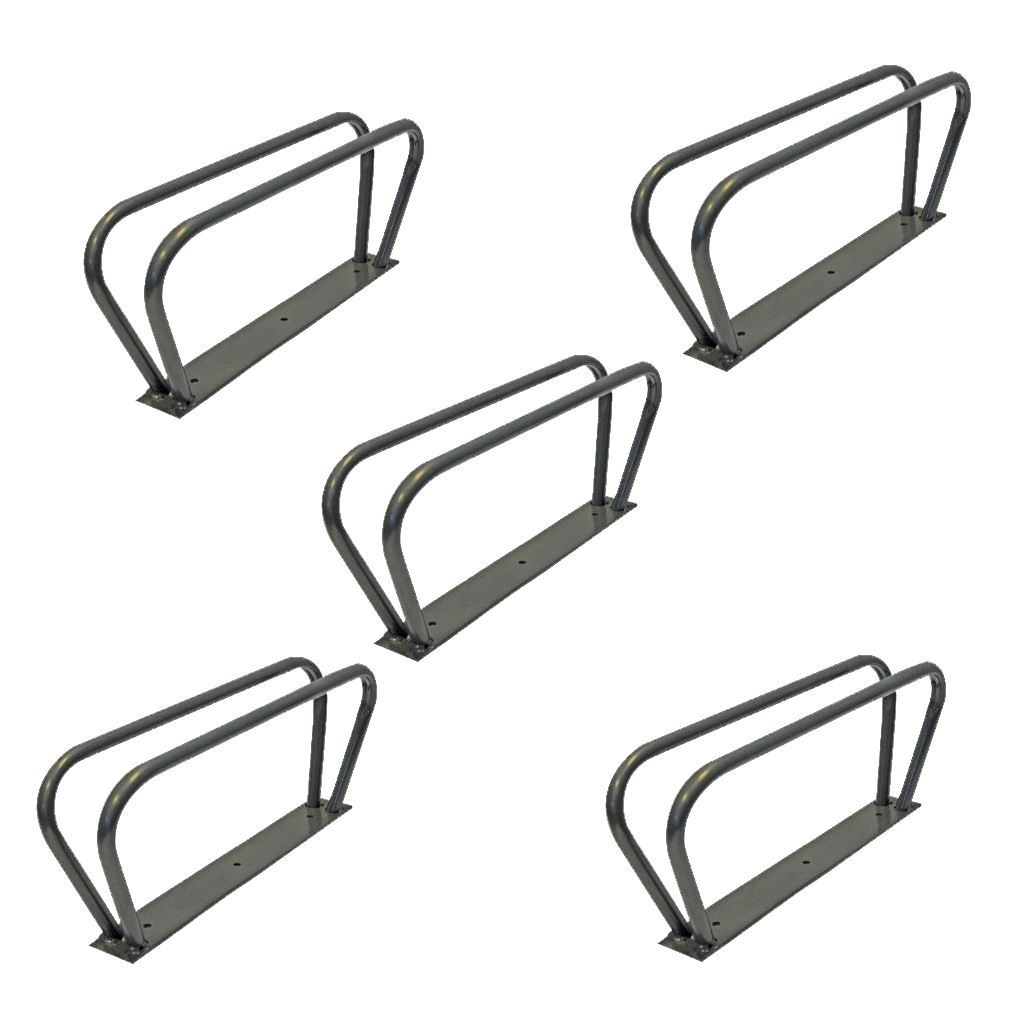 Cycle Bike Storage Stands Brackets Upright Wall Mounted Rack by Silverline