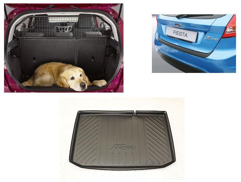 Dog Bumper Guard : New genuine ford fiesta on pet pack dog guard bumper
