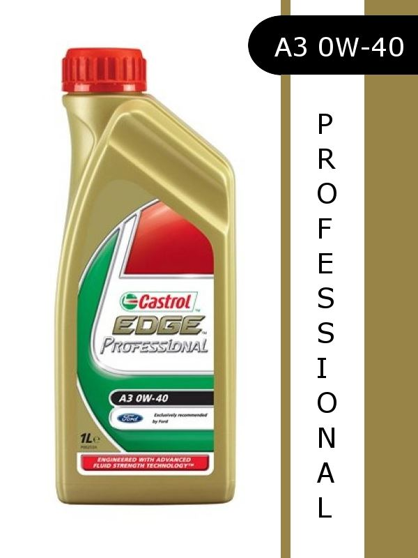new castrol edge professional a3 0w 40 engine oil 1 litre. Black Bedroom Furniture Sets. Home Design Ideas