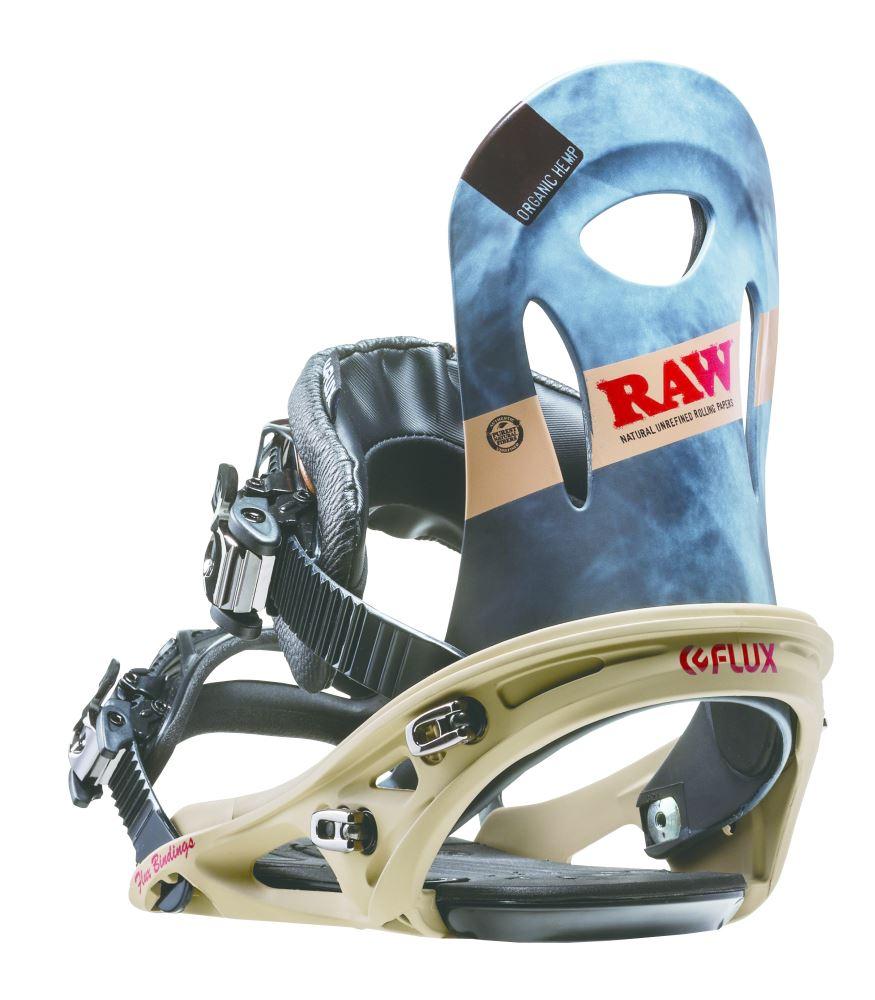 Flux RK Snowboard Bindings RAW 2014