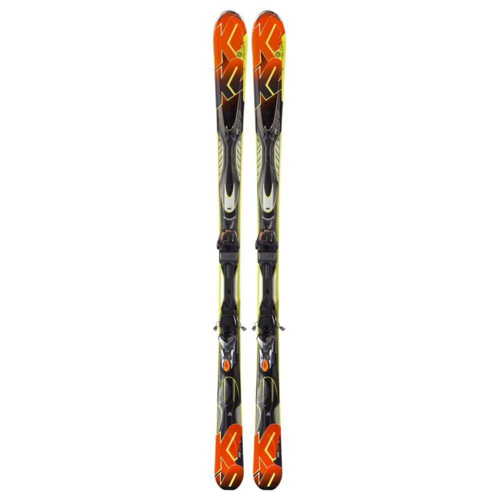 K2 AMP Impact Skis 2013 + Marker M3 11.0 Bindings