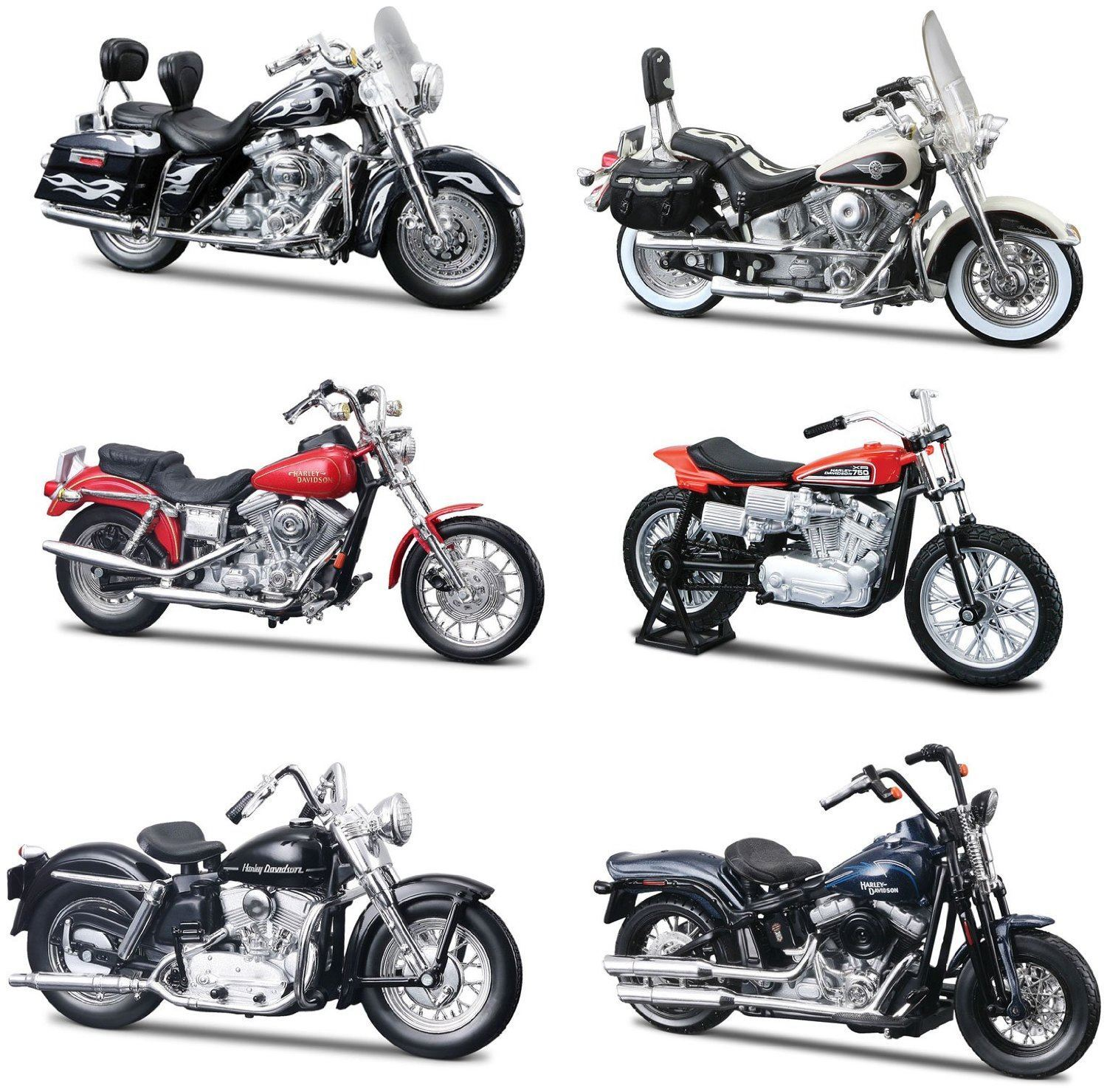 harley davidson motorcycle series 30 1 18 by maisto 31360 model motor die cast ebay. Black Bedroom Furniture Sets. Home Design Ideas