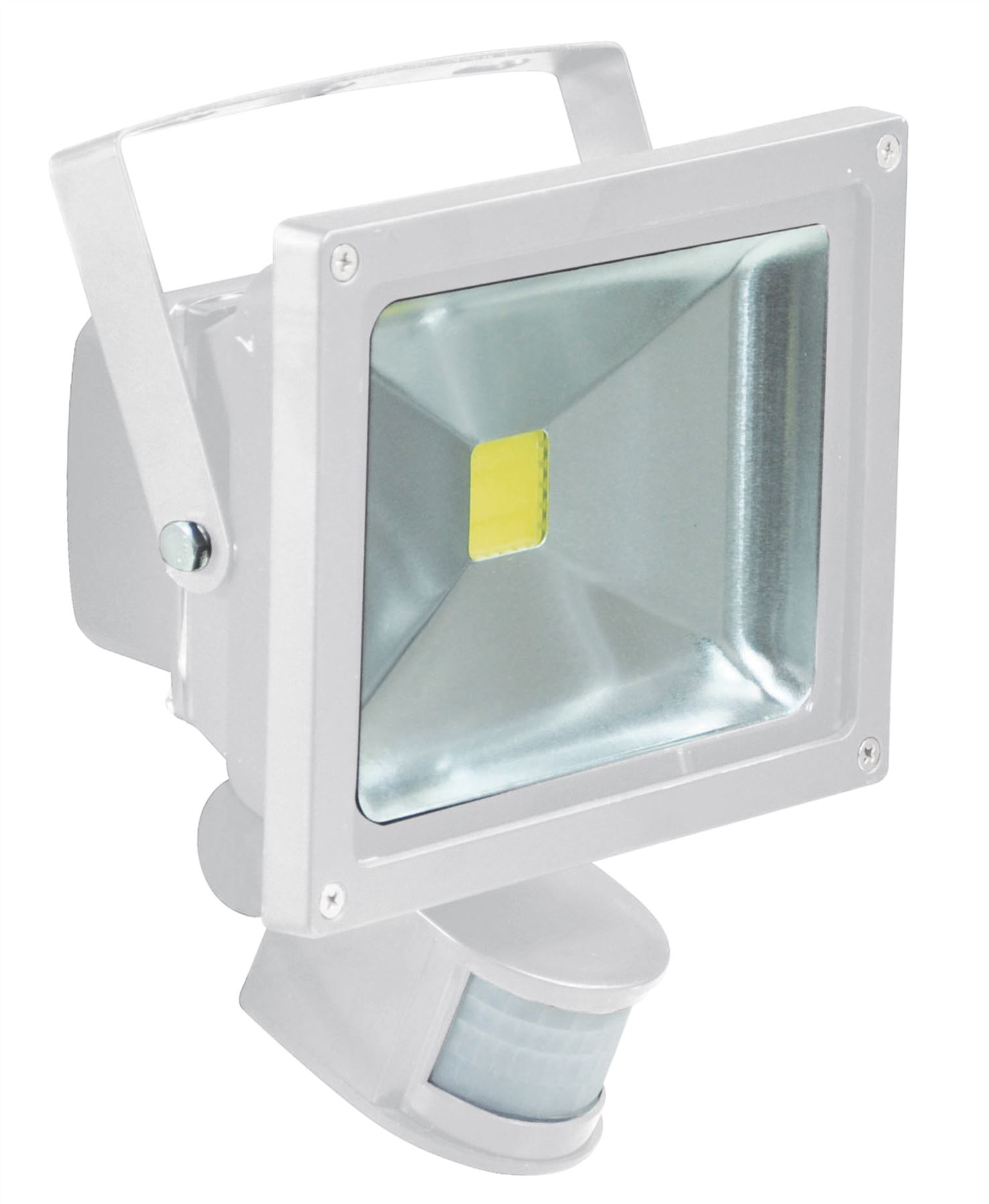 led flood lights with pir and pir override facility. Black Bedroom Furniture Sets. Home Design Ideas