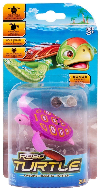 robo fish turtle play set ebay